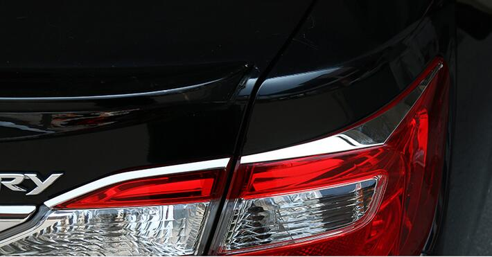 camry 2016 tail chrome